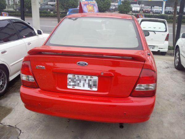 福特 ACTIVA W6 1.6 紅色 照片2