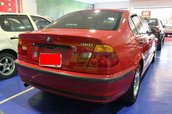 BMW 318 1.9 紅色 照片10