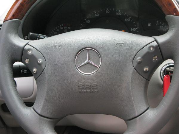 運通汽車-2003年-BENZ-C240 照片6