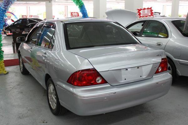 三菱 03年LANCER 1.6 銀色 照片10