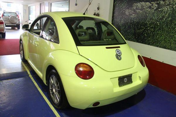 福斯 BEETLE 2.0 黃色 照片8