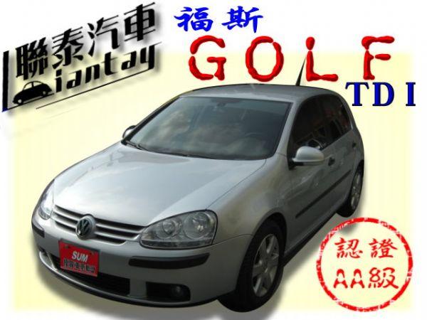 SUM聯泰汽車~2008年 GOLF 照片1