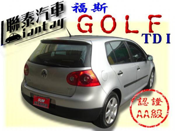 SUM聯泰汽車~2008年 GOLF 照片10