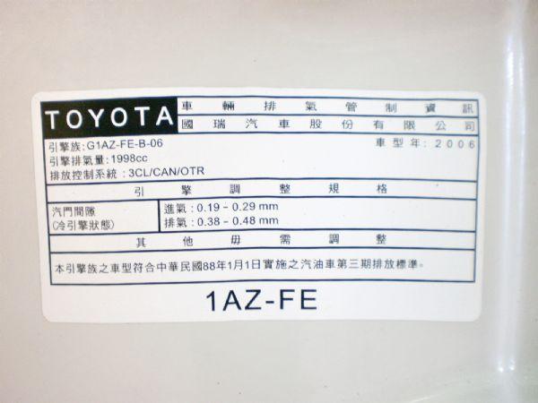06豐田 CAMRY天窗頂級 照片10
