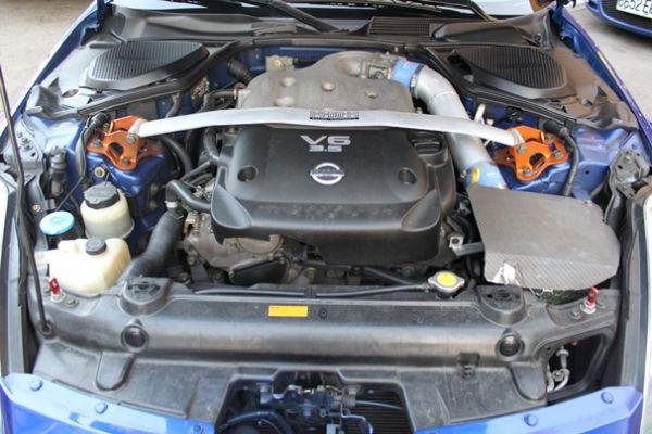 日產 350Z 3.5 寶藍色 照片8