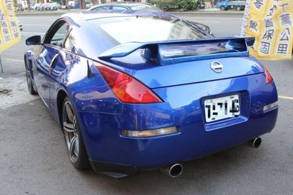 日產 350Z 3.5 寶藍色 照片9