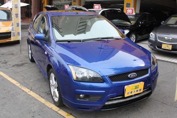 福特 FOCUS 5D 2.0 藍色 照片1