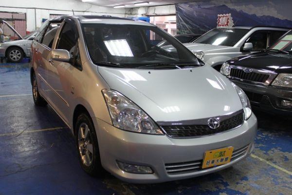 豐田 WISH 2.0 銀色 照片1