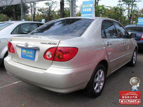 運通汽車-2002年-豐田-Altis 照片10