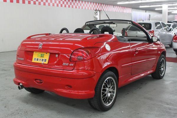寶獅 206CC 1.6 紅色 照片10