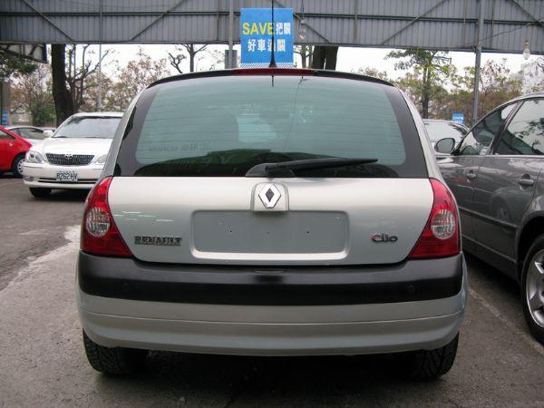 運通汽車-2004年-雷諾-Clio 照片7