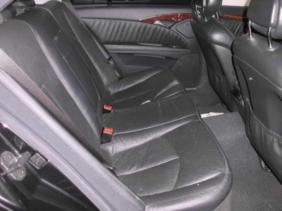 2003 賓士 E240 2.6 黑 照片6