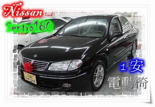 01日產Sentra1801.8 黑色 照片1