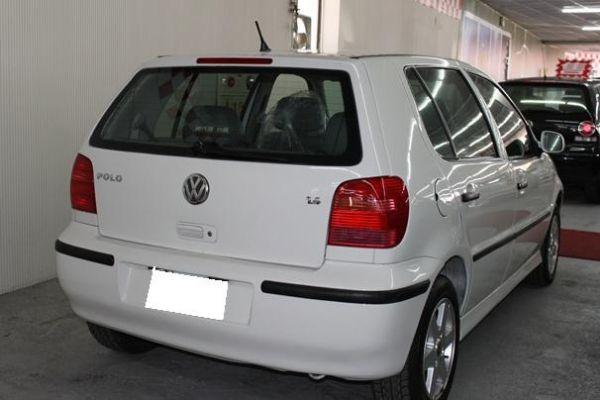 01 VW 福斯  Polo 1.4 白 照片6