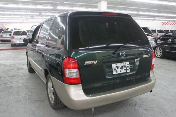01 馬自達 MPV 2.5 綠 照片9