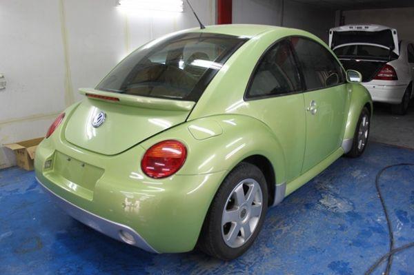 01 VW福斯  Beetle2.0綠 照片7