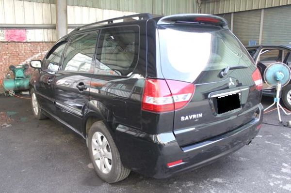 08三菱  Savrin 2.0  黑 照片8