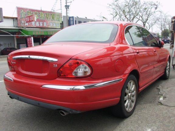 2003 捷豹 X-TYPE 2.5 紅 照片10