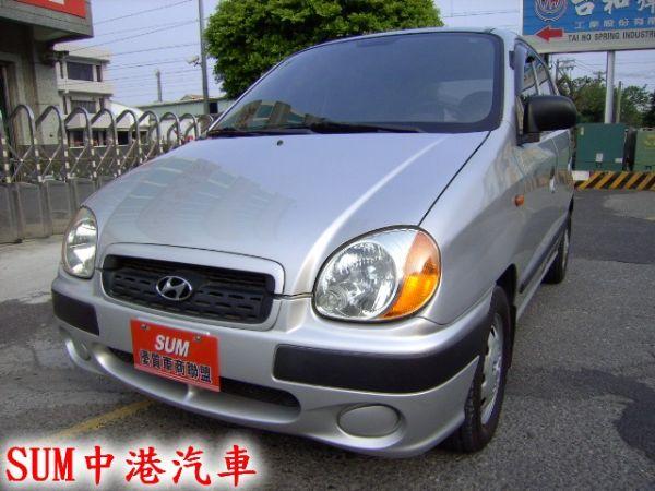 04年 ATOS 最佳の小車--全新輪胎 照片1