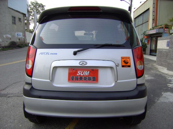 04年 ATOS 最佳の小車--全新輪胎 照片4