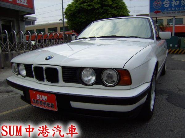 93年 BMW520I 保證原廠手排,驗 照片1
