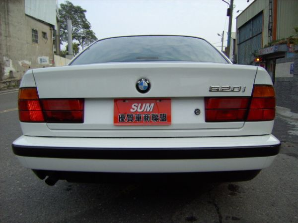 93年 BMW520I 保證原廠手排,驗 照片4