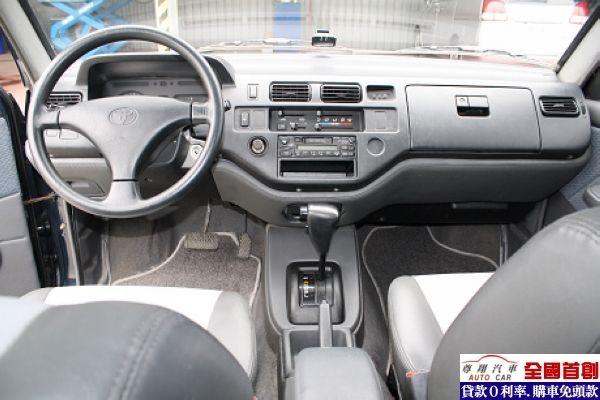 Toyota豐田 Zace(瑞獅) 照片9