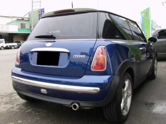 05 MINI Cooper 1.6 藍 照片9