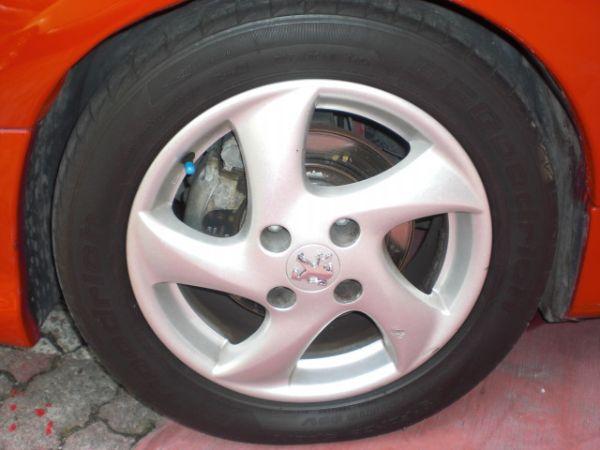 2005 206cc 1.6 紅 照片3