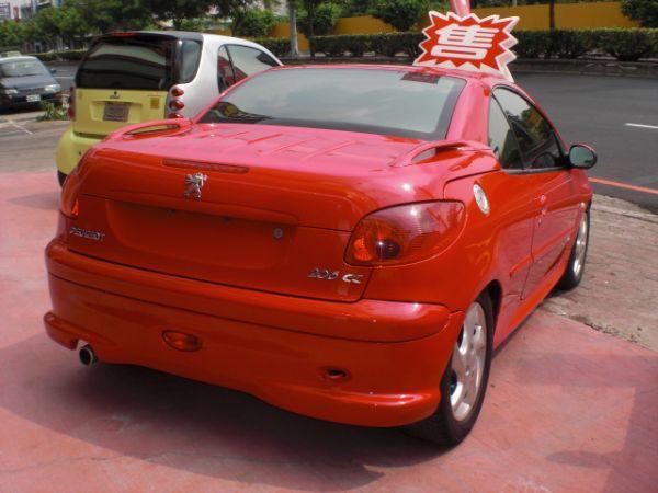 2005 206cc 1.6 紅 照片9