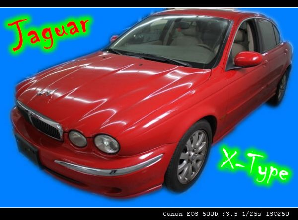 Jaguar 捷豹  X-Type 照片1