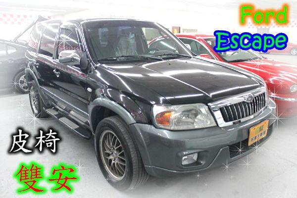 03福特  Escape 2.0 黑 照片1