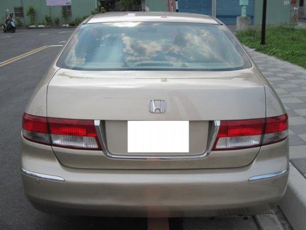 2004年 HONDA  ACCORD七 HONDA 台灣本田 Accord 新北中古車 二手車 新北中古汽車 新北中古車行 新北市中古車買賣行情表