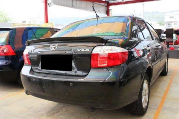 07年Toyota豐田Vios1.5黑 照片5