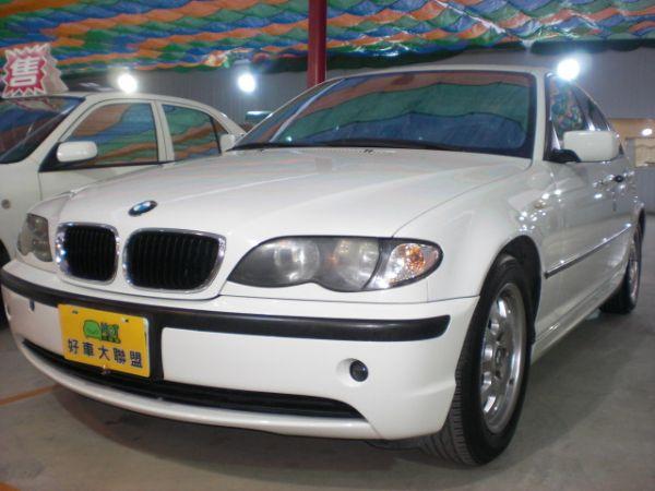 2003 BMW 318 2.0白  照片1