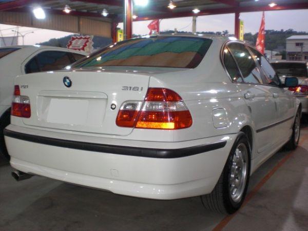 2003 BMW 318 2.0白  照片7