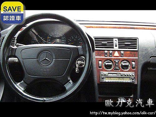 C280 2.8 黑色 總代理  照片6