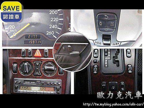 C280 2.8 黑色 總代理  照片8