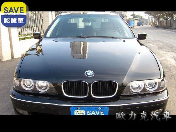 97年出廠 BMW 528 E39 黑色 照片1