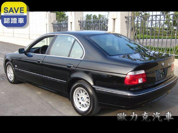 97年出廠 BMW 528 E39 黑色 照片7
