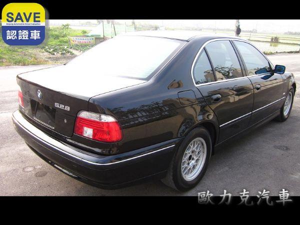 97年出廠 BMW 528 E39 黑色 照片9