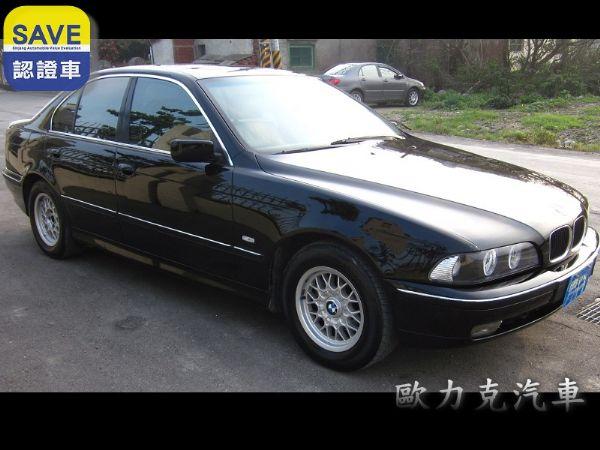 97年出廠 BMW 528 E39 黑色 照片10
