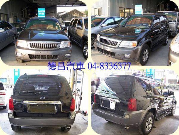 福特 ESCAPE 03年 2.0黑 照片8