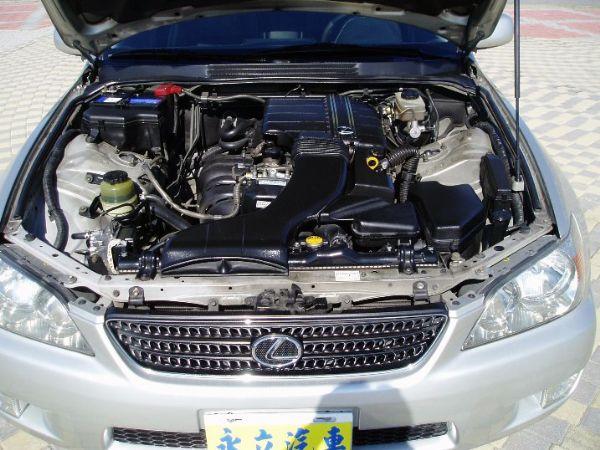 《永立汽車》01 Lexus IS200 照片8
