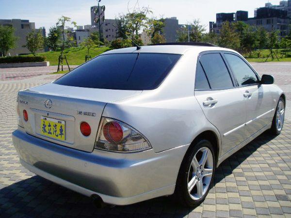 《永立汽車》01 Lexus IS200 照片9