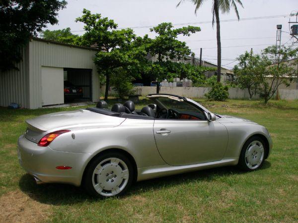 Lexus 凌志 SC 430 銀 照片1