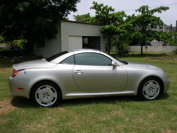 Lexus 凌志 SC 430 銀 照片4