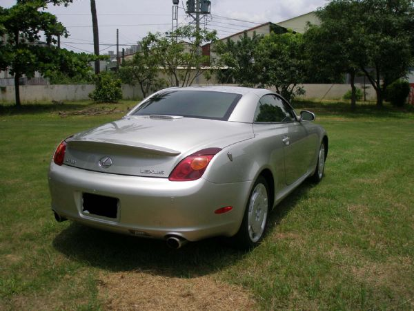 Lexus 凌志 SC 430 銀 照片6