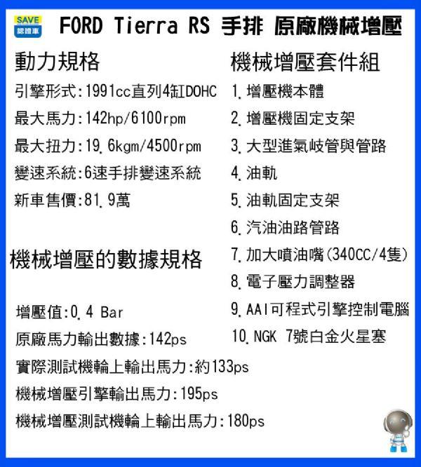 TIERRA RS 2.0手排機械增壓 照片8