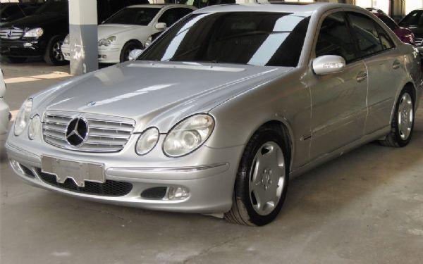 2003 BENZ E240 僑將汽車 照片1